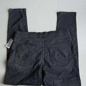 361236e1 Lee Pants   Nwt Dream Jean Leggings Midrise Grey Size 14   Poshmark